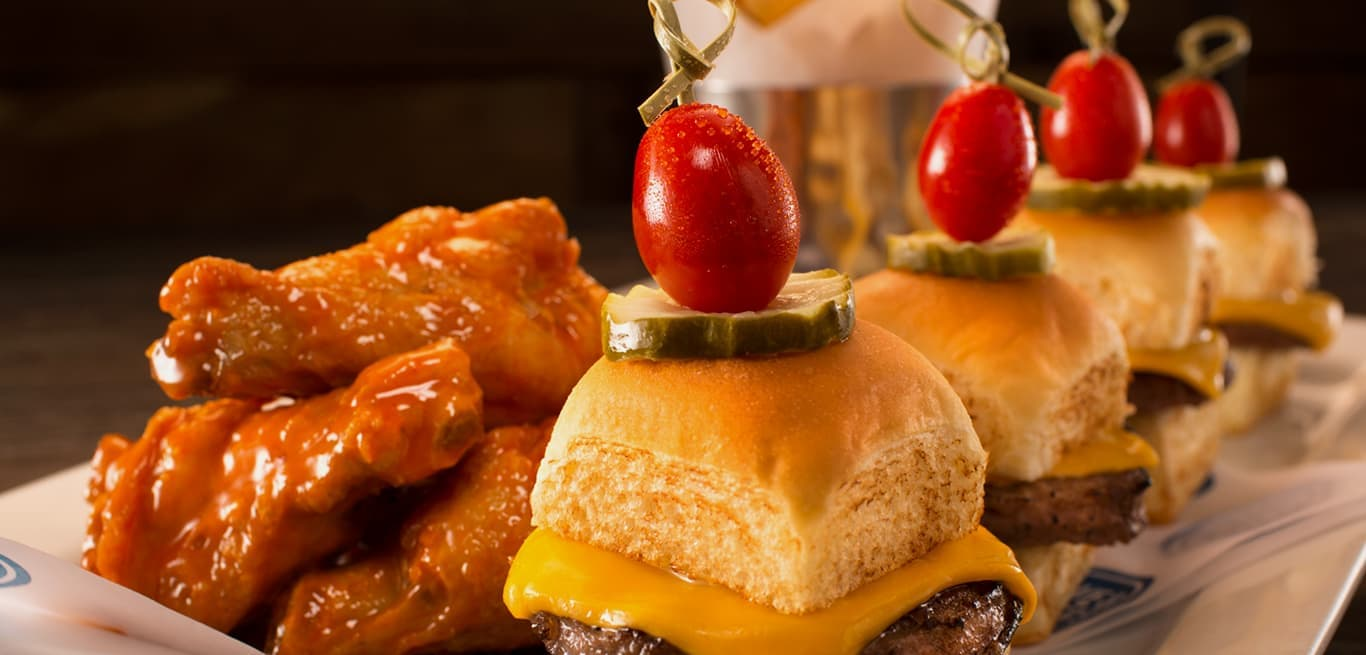 Sliders and Wings