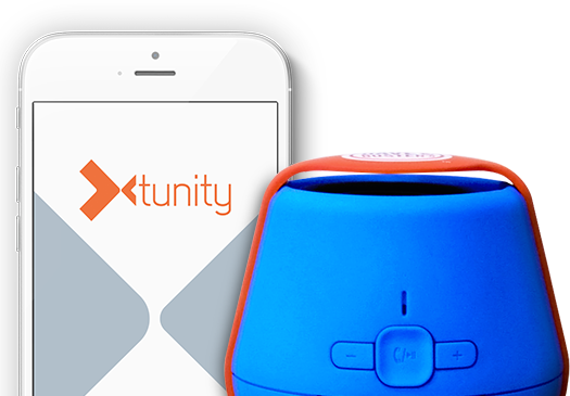 Listen to any game with the Tunity App