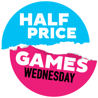 Half Price Games Wednesday Logo