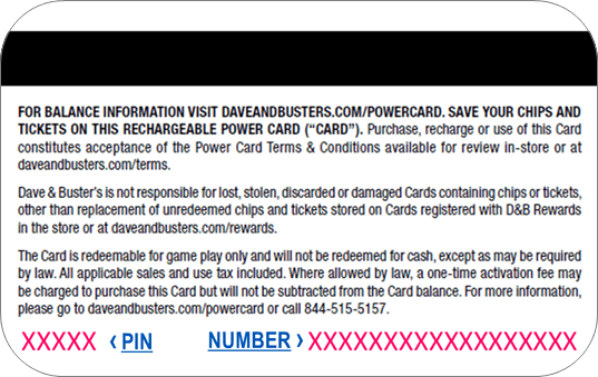 7de3b9babf15dd What is the Power Card® PIN number