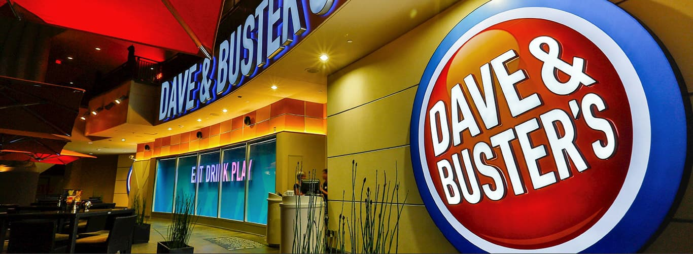 Dave S And Busters For Kids