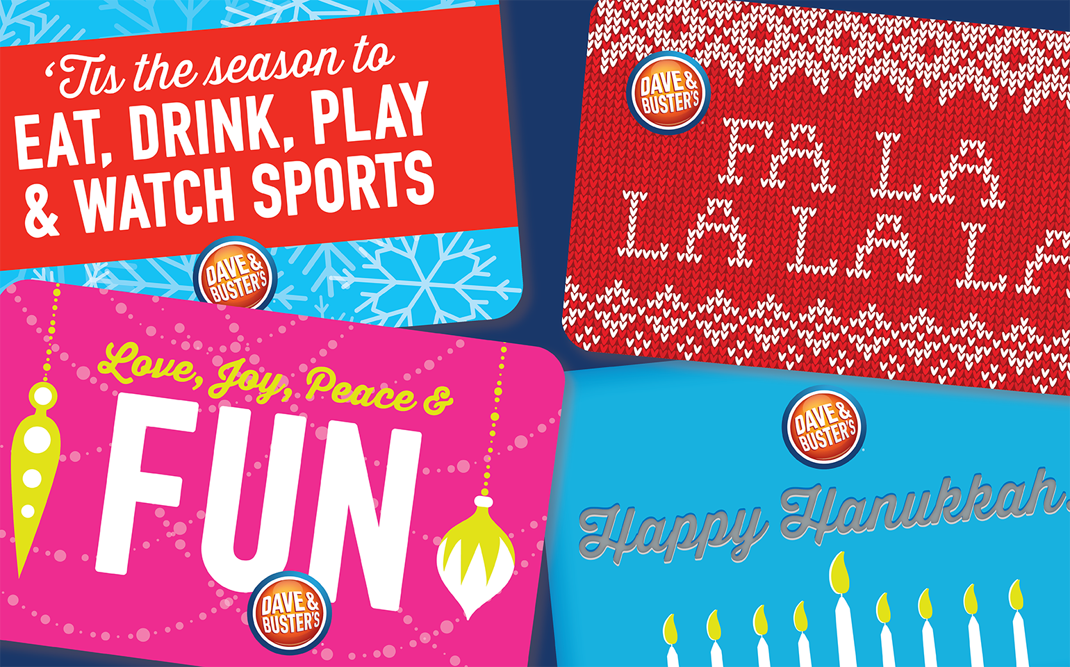 Holiday gift cards are now available and make the best gift for anyone!