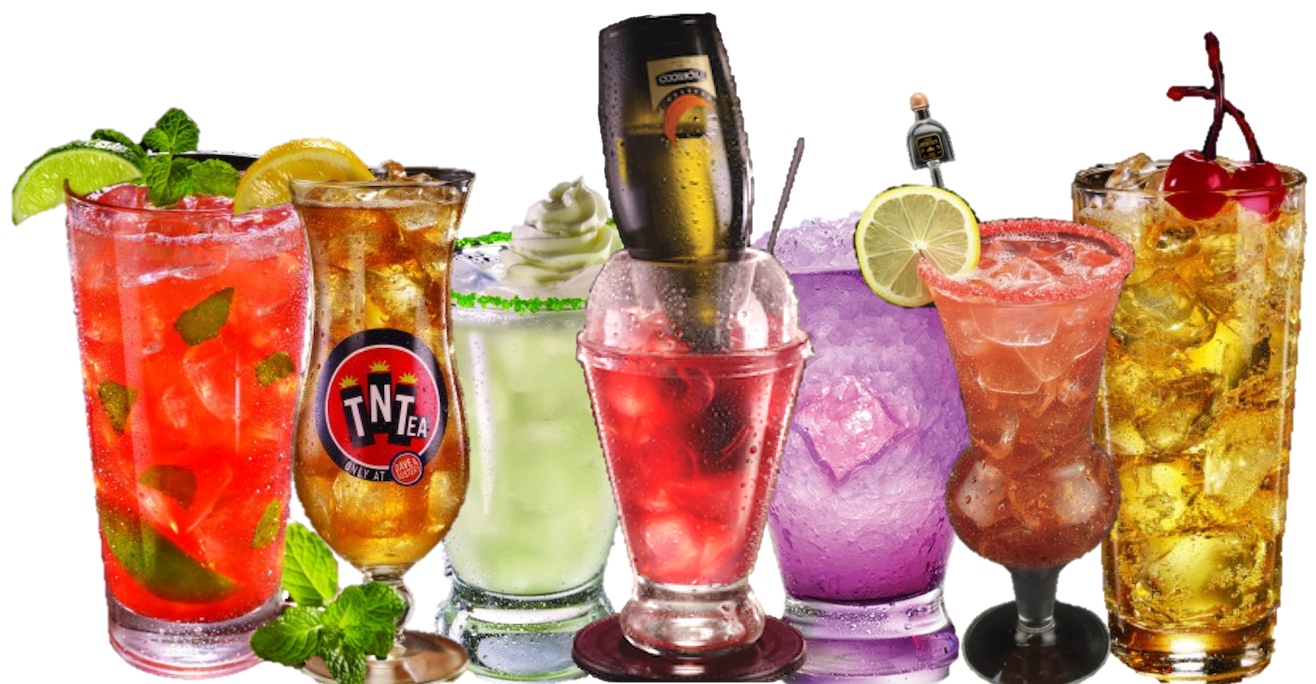 Dave & Buster's - Drink Menu - Best Sports Bar Ever