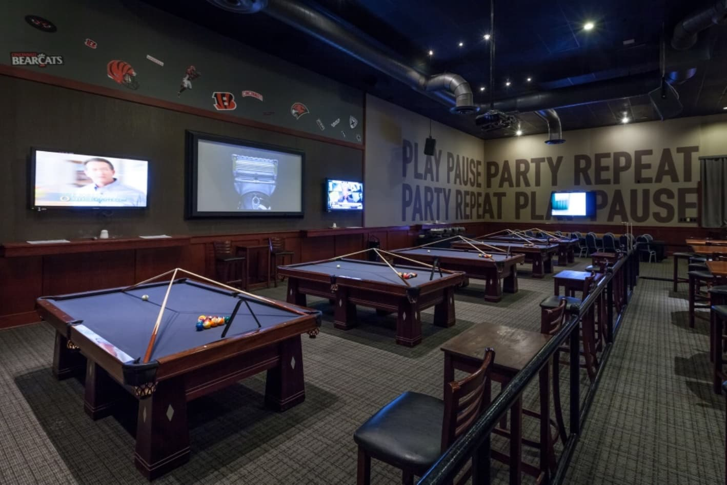 Billiards at the Springdale location