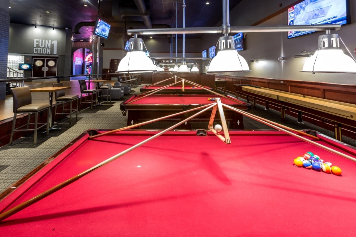 Billiards at the Palisades location