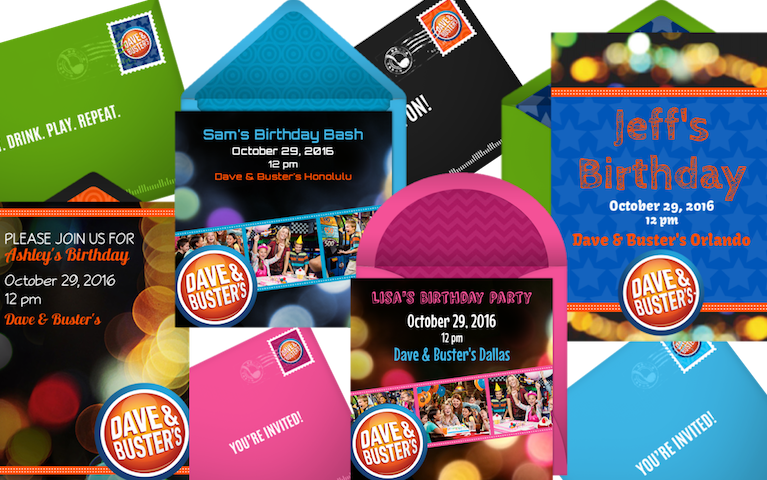 Kids Birthday Online Invitations