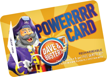 Pirate Power Card