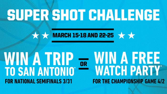 Super Shot Challenge Watch Party Image