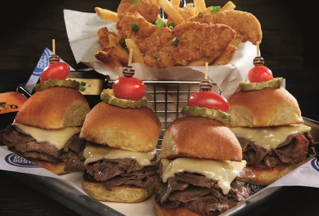 Philly Cheesesteak Sliders & Goldfingers Image